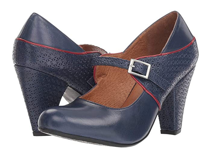 1940s Womens Footwear Miz Mooz Chantelle Blue Womens Shoes $71.98 AT vintagedancer.com