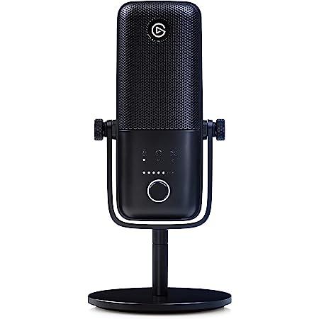 Elgato Wave:3 Micrófono condensador Usb de Calidad y Solución de Mezcla Digital, Tecnología Antisaturación, Sensor Táctil de Muteo, Streaming y Podcasting