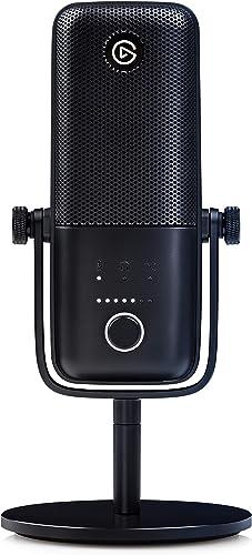 Elgato Wave:3, Micro USB à condensateur et solution de mixage numérique haut de gamme avec technologie antiécrêtement...