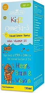 Natures Aid Kidz Omega 3- Vitamin D3, High EPA & DHA 150ml