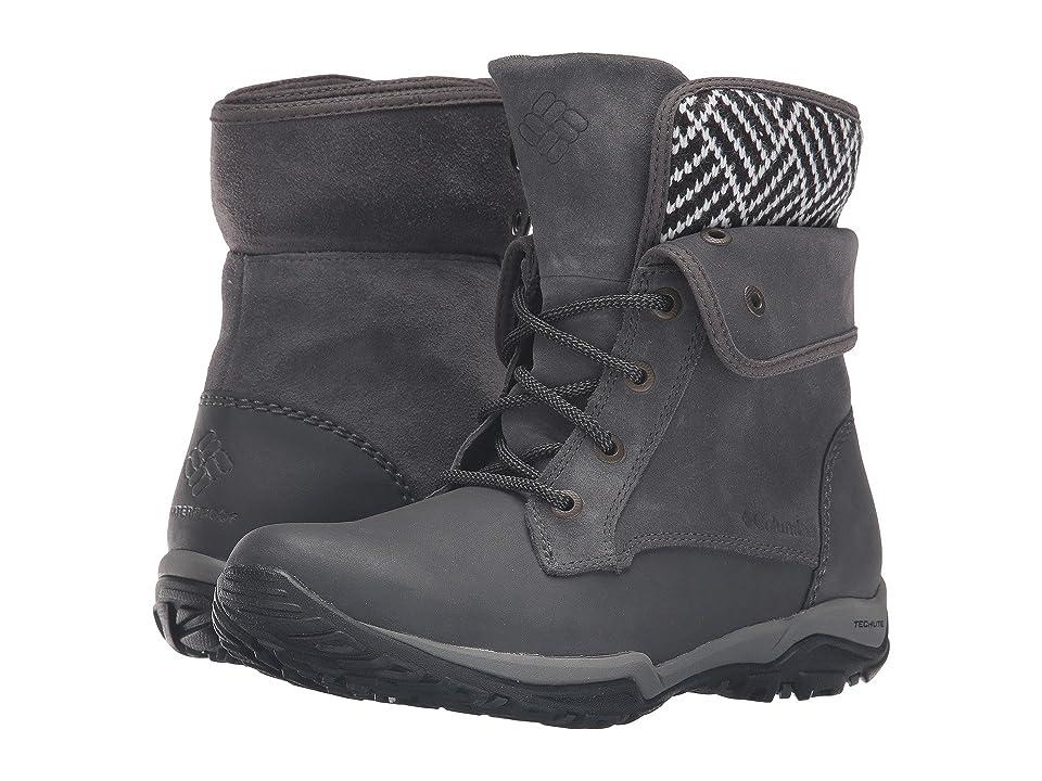 Columbia Cityside Fold Waterproof (Dark Grey/Silver Sage) Women