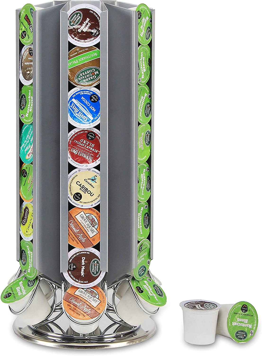 Flagship Pod stands for Outlet ☆ Free Shipping New York Mall Keurig K-cup pod Carousel Coffee Holder