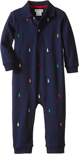 Schiffli One-Piece Coverall (Infant)