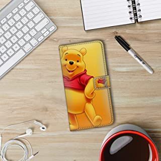 DISNEY COLLECTION Phone Wallet Case Fits for iPhone Xs Max (2018) 6.5inch Hd Pooh Bear Wallpaper Prevalent