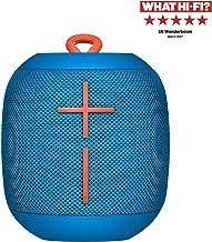 Ultimate Ears Wonderboom Altavoz Portátil Inalámbrico Bluetooth, Sonido Envolvente de 360°, Impermeable, Conexión de 2 Altavoces para Sonido Potente, Batería de 10 h, color Azul