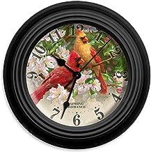 "Reflective Art 10"" Spring Romance Wall Clock"