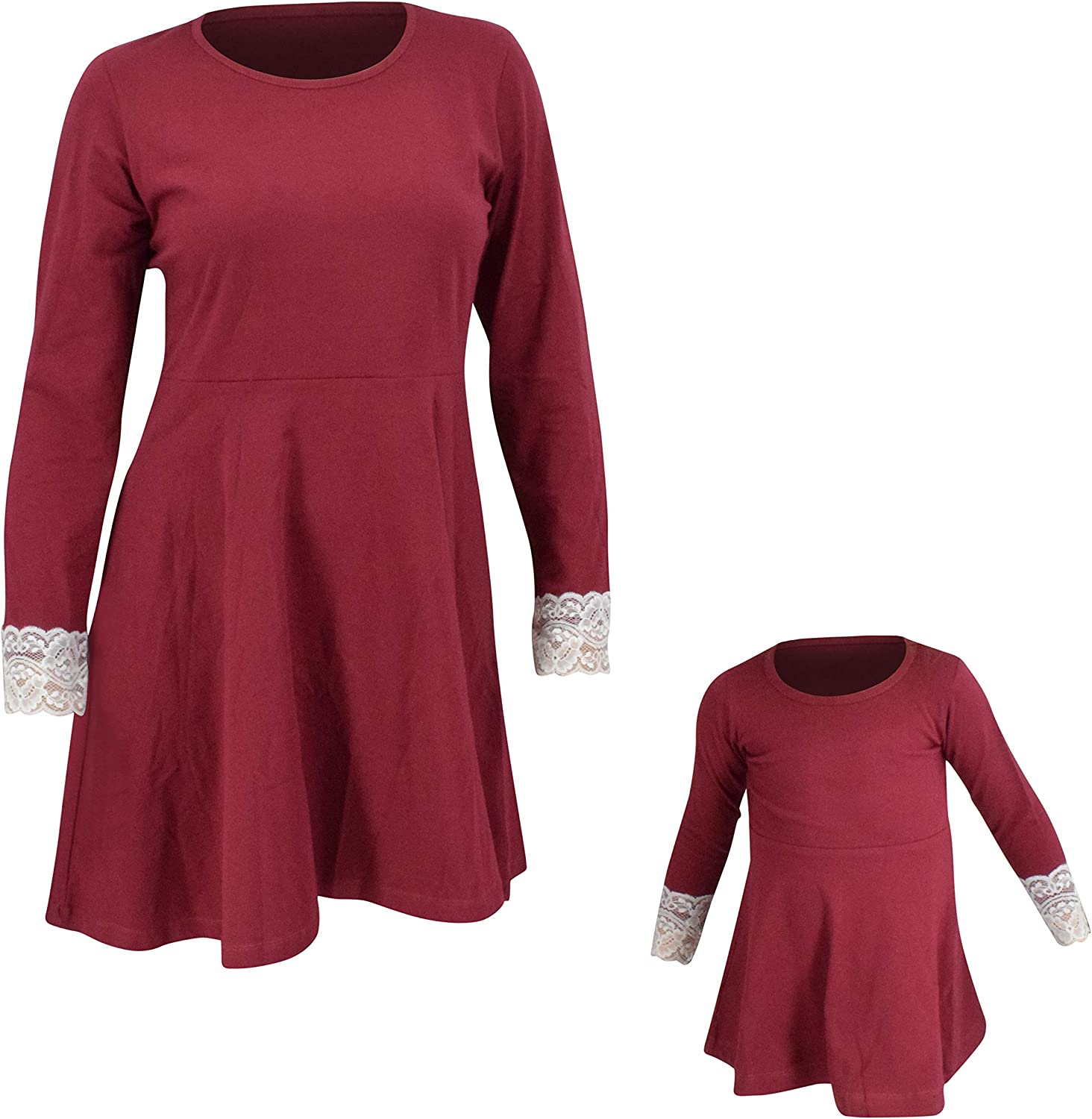 Unique Max 59% OFF Baby Womens Christmas Genuine Free Shipping Skater Momm Cocktail Dress Matching