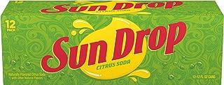 Sun Drop Citrus Soda, 12 Fluid Ounce Can, 12 Count