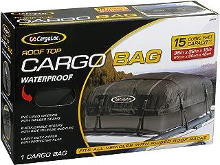 Cargoloc 32424 15-Cubic/Feet Deluxe Roof Top Waterproof Cargo Carrier