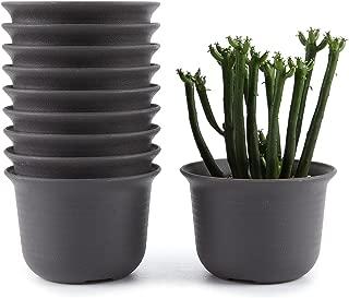 small plastic pots