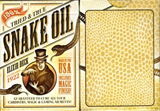Best snake oil elixir playing cards Reviews