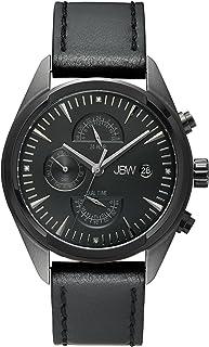 JBW Luxury Men's Woodall 4 Diamonds Multi-Function Watch