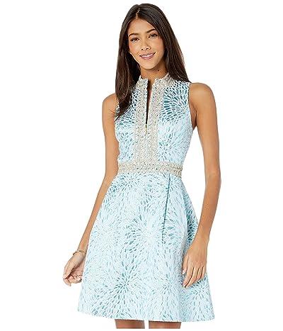 Lilly Pulitzer Franci Dress (Bermuda Blue Lagoon Jacquard) Women