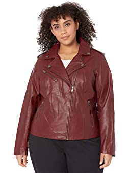 Womens Plus Sized Leather Jackets