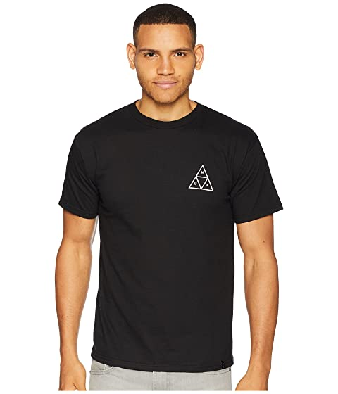 HUF Essentials TT Short Sleeve Tee Black Factory Outlet Online Cheap Cheap Online Order Cheap Price Fake Buy Cheap Shop 5wOActaS