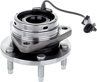 ECCPP Replacement for Wheel Hub Bearing Assembly fits Chevrolet Malibu Pontiac G6 Front 5 Lugs w/ABS 513214