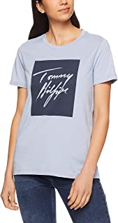 TOMMY HILFIGER Women's Signature Logo Cotton T-Shirt