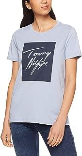 TOMMY HILFIGER Women's Signature Logo Cotton T-Shirt