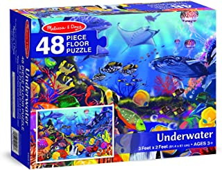Melissa & Doug Underwater Ocean Floor Puzzle (48 pcs, 2 x 3 feet) Puzzles 427