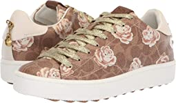 C101 Low Top Sneaker with Floral Print