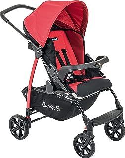 Carrinho de Bebê Ecco, Burigotto, Vermelho, Até 15 kg