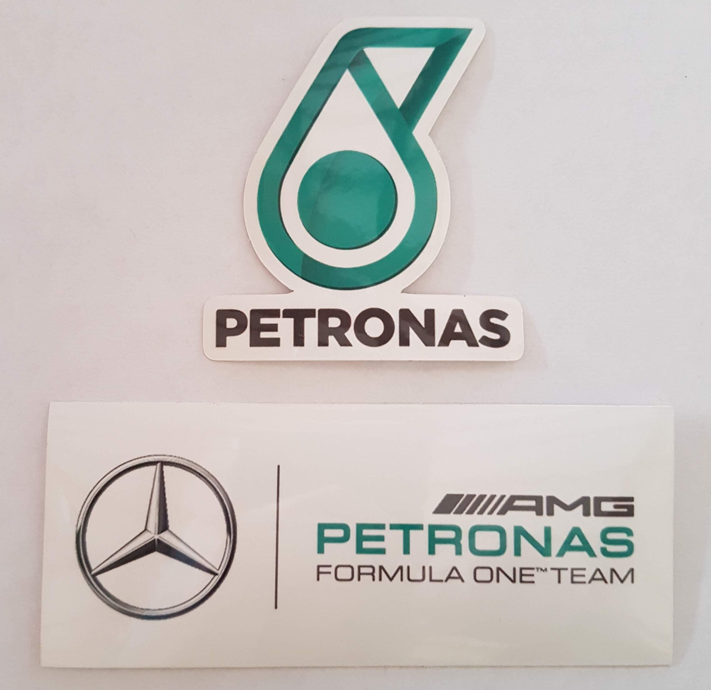 Pack Fórmula 1 (F1) de 2 adhesivos de vinilo Mercedes-AMG Petronas ...