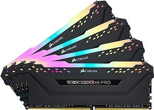 Corsair Vengeance RGB Pro 32GB (4x8GB) DDR4 3600 (PC4-28800) C16 Desktop Memory – Black