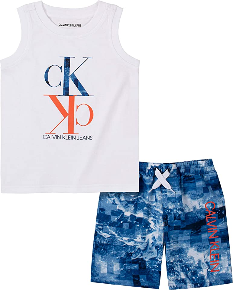 Calvin Klein Boys' 2 Pieces Swim Shorts Set