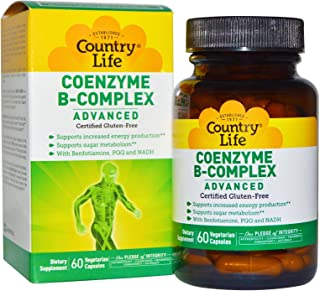 COUNTRY LIFE Vitamins COENZYME B-Complex ADVNCD, 60 VCAP