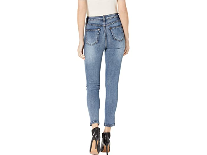 Tribal Five-pocket High-rise Slim In Blue Dusk Jeans