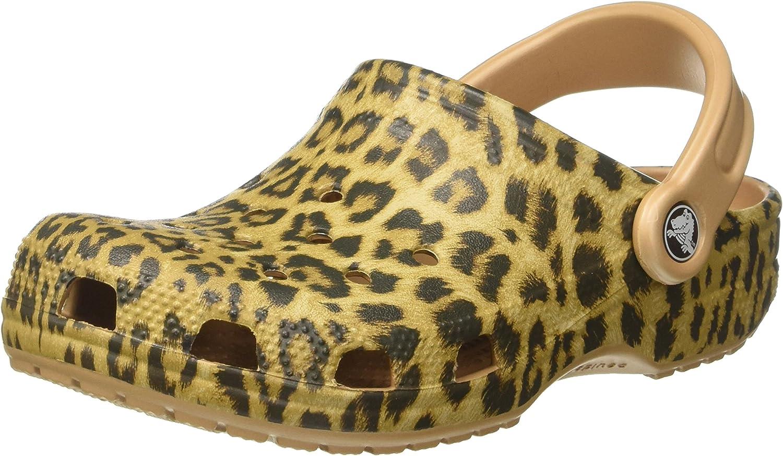 Crocs Unisex Classic Leopard Iii Clog Mule