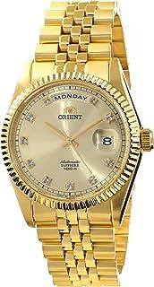 ORIENT President Classic Automatic Sapphire Gold Watch EV0J001G
