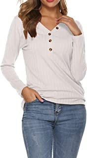 ribbed henley womens