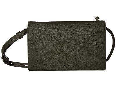 AllSaints Fetch Chain Wallet (Khaki Green) Wallet Handbags