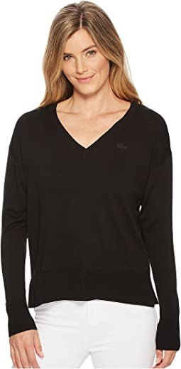 Classic Jersey V-Neck Sweater
