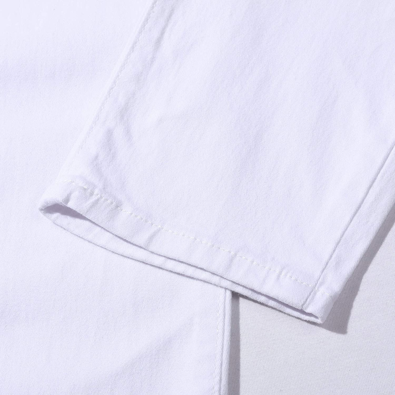 HUAZONG Herren-Latzhose schmal Denim mit mehreren Taschen