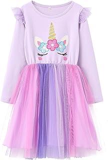 Sponsored Ad - Haydendear Toddler Girls Dresses Unicorn Tutu Tulle Spring Fall