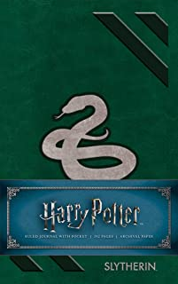 Harry Potter: Slytherin Ruled Pocket Journal