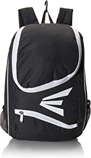 EASTON E50BP Bat & Equipment Backpack Bag | Baseball Softball | 2019 | 2 Bat Sleeves | Large Gear Compartment | Zippered Valuables Pocket | Fence Hook for Dugout Functionality