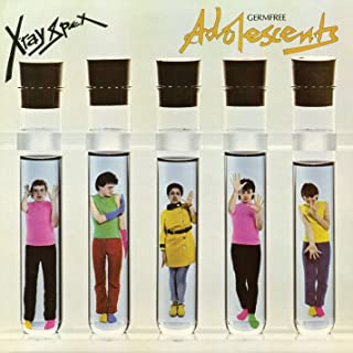 GERMFREE ADOLESCENTS (X-RAY CLEAR VINYL EDITION) [Analog]