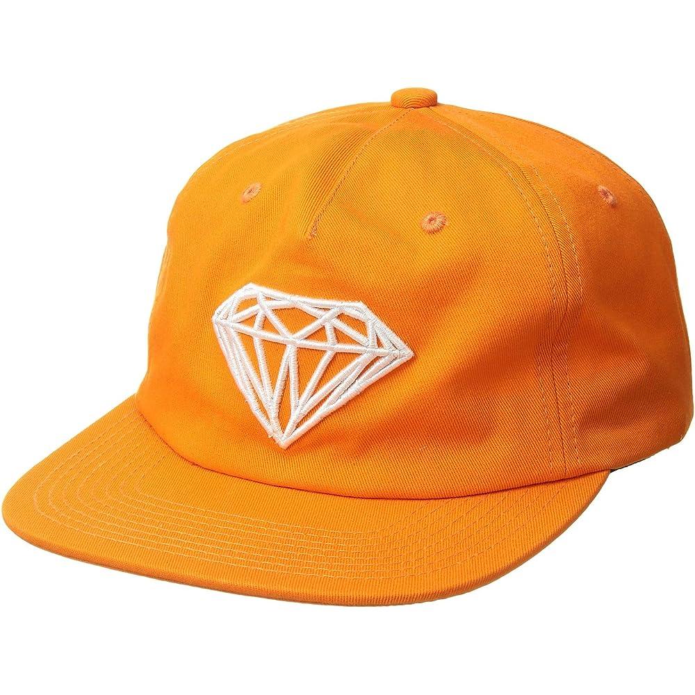 Diamond Supply Co Mens Split Unstructured Snapback
