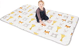 Lionhouse Non-Slip Padded Baby Play Mat | 100% Cotton Surface | Large 150 x 100 cm | Machine-Washable