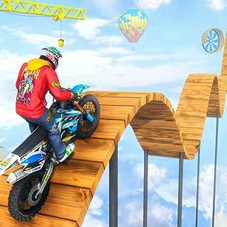 Trail Bike Racing Game Stunts Master: Tricky Ramp Bike Crazy Racing 3D