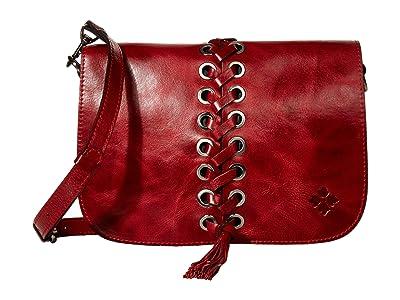 Patricia Nash Vito Flap (Red) Bags