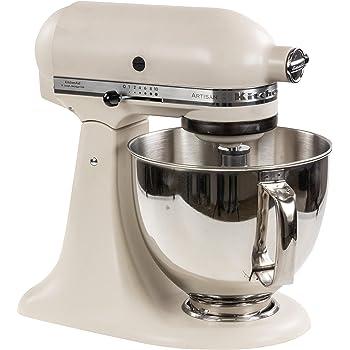 Kitchenaid 5KSM175PSEFL - Robot de cocina, color blanco: Amazon.es: Hogar