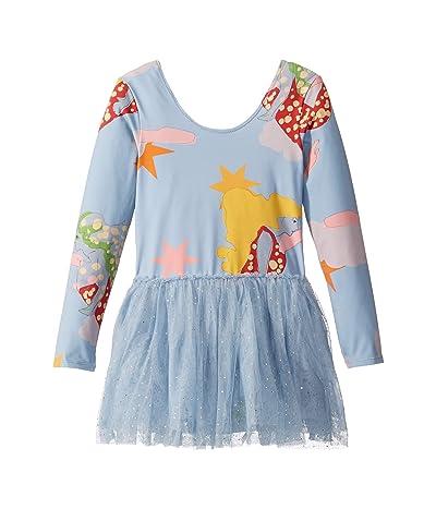 Stella McCartney Kids Lucy in the Sky Tulle Dress (Toddler/Little Kids/Big Kids) (Blue) Girl