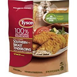 Tyson Fully Cooked Southern Style Chicken Tenders, 25 oz. (Frozen)