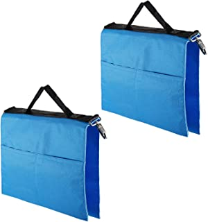 Neewer® 2 Pack SP-WCM Photo Video Studio Softbox Photo Holding Panel Boom Arm Bar Water Bag with 4 Outer Pouches (Blue)