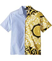 Versace Kids - Button Up Shirt (Big Kids)