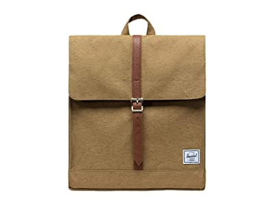 Herschel Supply Co. City Mid-Volume (Coyote Slub) Backpack Bags